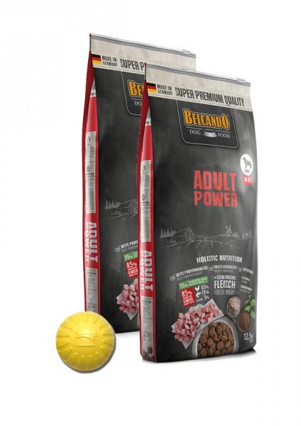 2x 12,5kg Belcando® Adult Power + Geschenk