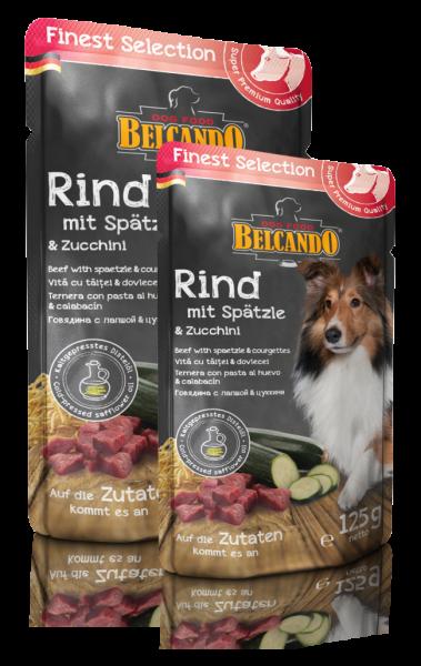 Belcando® Rind und Spätzle mit Zucchini