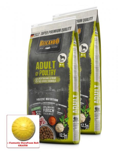 2x 12,5kg BELCANDO® Adult GF Poultry