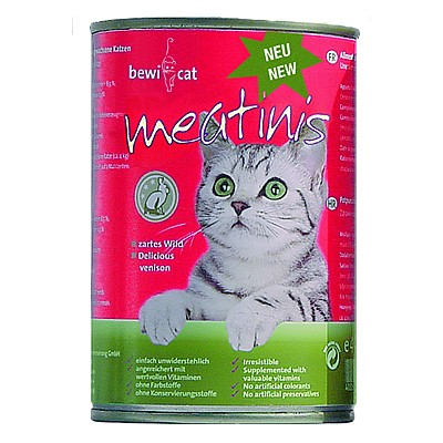 Bewi Cat Meatinis Wild