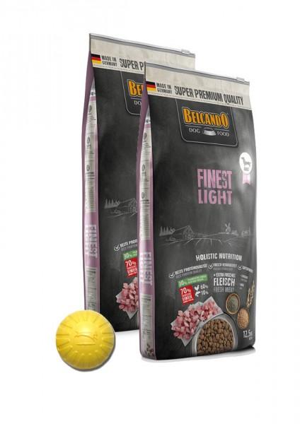 2x 12,5kg Belcando® Finest Light + Geschenk