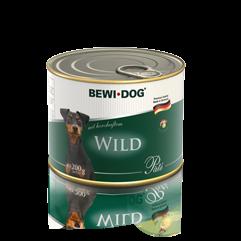 BEWI DOG Pâté reich an herzhaftem Wild