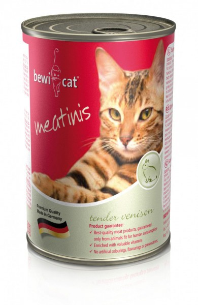 Bewi Cat Meatinis Wild 400g