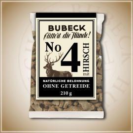 Bubeck Getreidefreier Snack Nr. 4 mit Hirsch