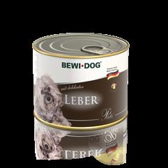 BEWI DOG Pâté mit delikater Leber