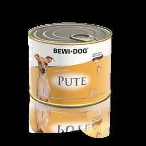 BEWI DOG Pâté reich an feiner Pute