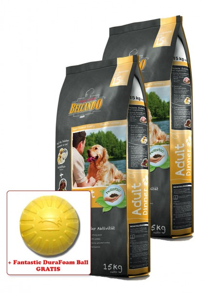 2x 15kg Belcando® Adult Dinner