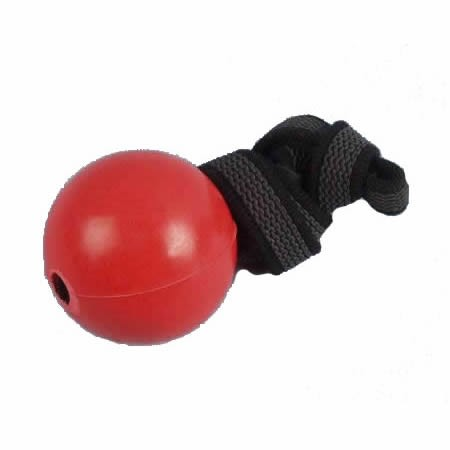 Vollgummiball RubberGrip 50 mm