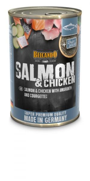 Belcando® Lachs und Huhn mit Amaranth & Zucchini