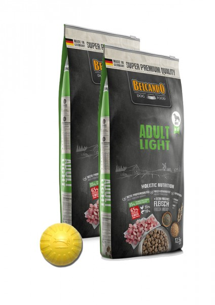 2x 12,5kg Belcando® Adult Light + Geschenk