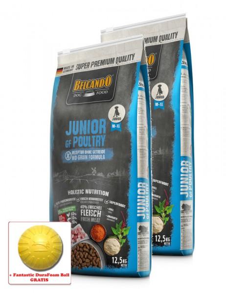 2x 12,5kg BELCANDO® Junior GF Poultry