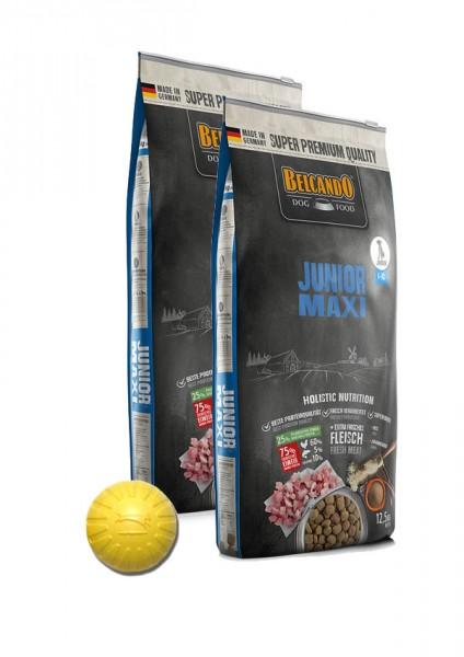 2x 12,5kg Belcando® Junior Maxi + Geschenk