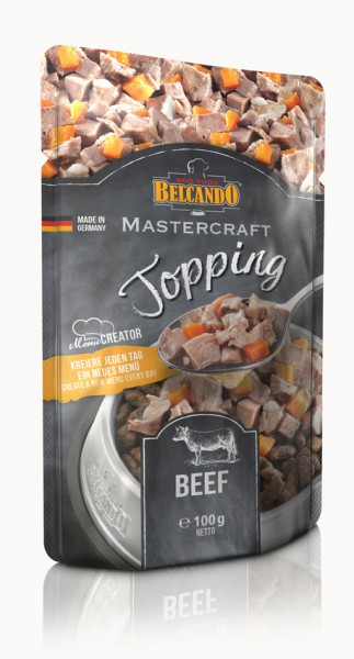 Belcando Mastercraft Topping Beef 100g