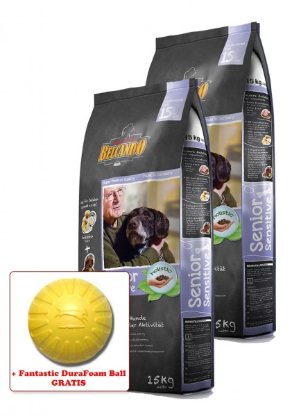 2x 15kg Belcando® Senior Sensitive