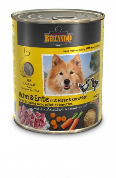 Belcando® Huhn und Ente mit Hirse und Karotten