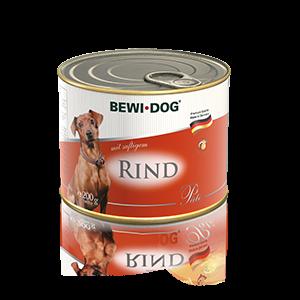 BEWI DOG Pâté reich an saftigem Rind