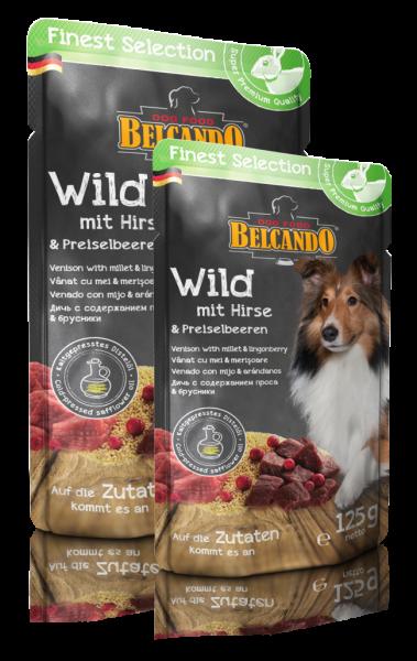 Belcando® Wild mit Hirse und Preiselbeeren
