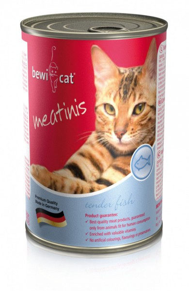 Bewi Cat Meatinis Lachs 400g