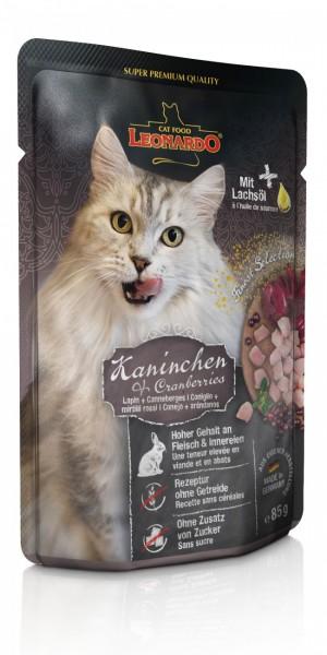 LEONARDO® Kaninchen + Cranberries 85g